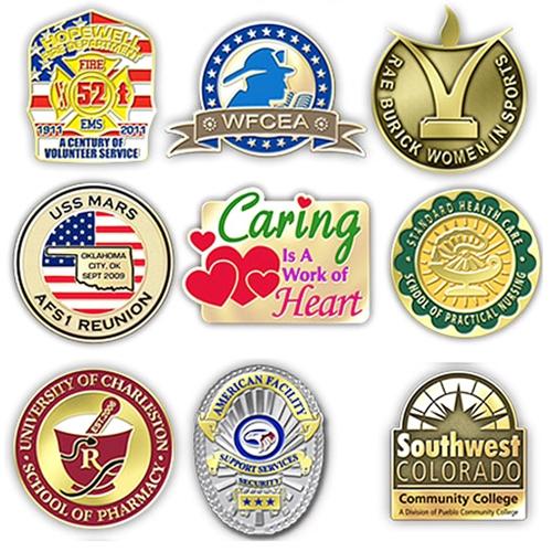 Custom Shape Lapel Pin Badge - Promotional Products_Lapel