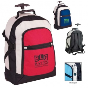 Tri-Color Rolling Rucksack-[NW-91108] - Promotional Products