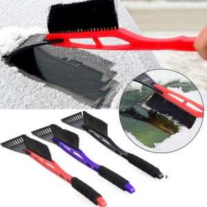 Deluxe Long Handled Car Ice Scraper - Promotional Products
