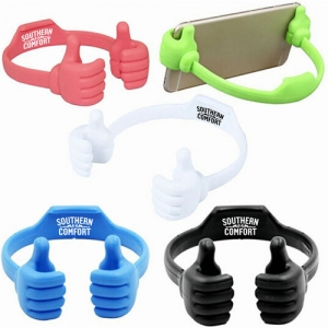 Flexible Portable Thumb OK Phone Stand - Promotional Products