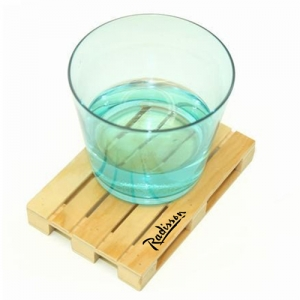 Miniature Pallet Wood Coasters - Promotional Products