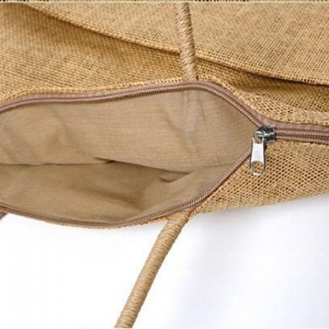 Straw Shoulder Diaper Bags - Promotional Products