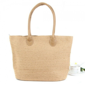 Woven One Shoulder Casual Beach Bags - Promotional Products