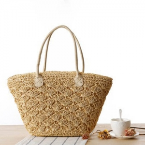 Straw Shoulder Women Tote Bag - Promotional Products