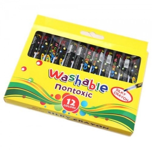Erasable Non Toxic Silky Crayon - Promotional Products