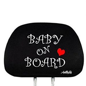 Interchangeable Headrest Cover Car Seat - Promotional Products