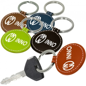 Round Leather Key ...