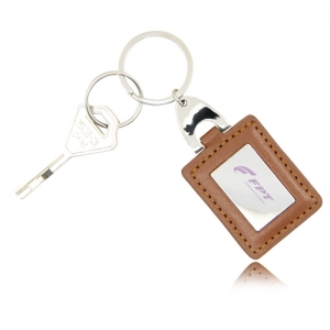 Square Leather Key...