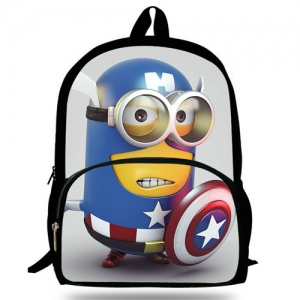 16-Inch Minions Printing School Bag - Promotional Products