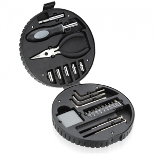 24 Piece Tire Shaped Tool Kit - Promotional Products