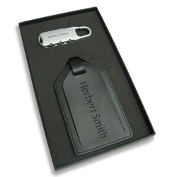 Luggage tag and lock - Promotional Products