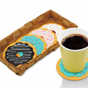 Round Donut Shaped Coaster - Promotional Products