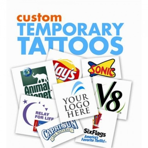 Personalized Temporary Tattoo - Promotional Products