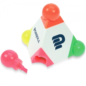 Pyramid Shaped Highlighter - Promotional Products