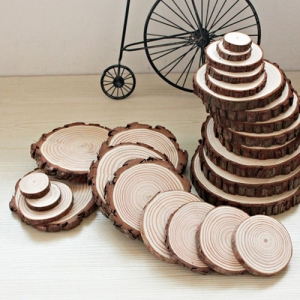 Wood Slice 6 Coasters - Promotional Products