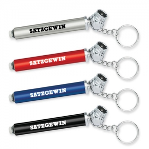Custom Mini Tire Gauge Keychain - Promotional Products