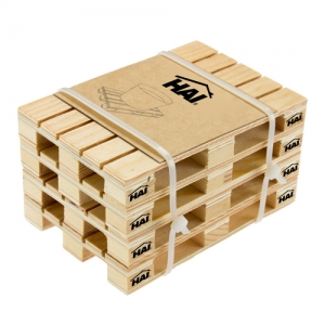 Simulation Mini Wood Pallet Coasters - Promotional Products