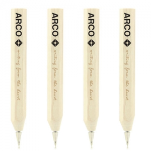 Natural Wooden Hexagon Ballpoint Pen - Promotional Products