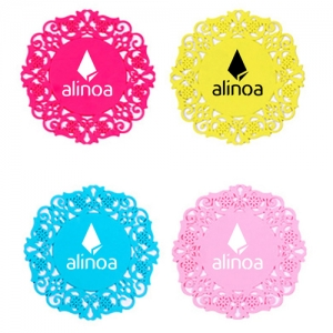 Lace Silicone Coaster Insulation Pad - Promotional Products
