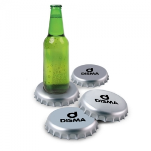 Spinning Giant Bottle Cap Coasters - Promotional Products