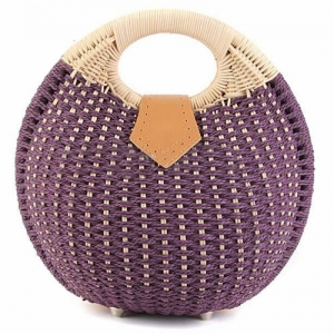 Women Shell Woven Beach Bag - Promotional Products