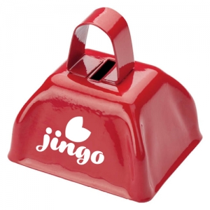 Sturdy Metal Cowbells With Handle - Promotional Products
