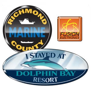 Durable Outdoor Domed Decals - Promotional Products