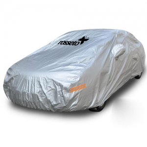 Silver Car Universal Four Seasons Car Cover - Promotional Products