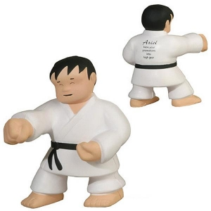 Karate Man Stress Reliever-[AL-27022] - Promotional Products