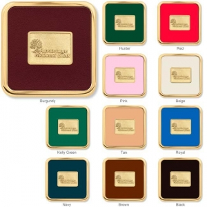 Brass Square Coaster Weight(R) Coasters-[NW-91754] - Promotional Products