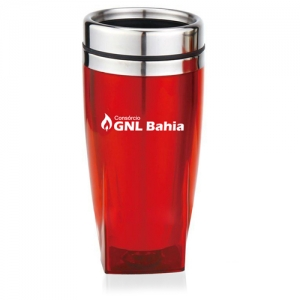 450ML Square Bottom Travel Mug - Promotional Products