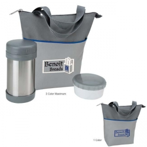 Lunch Bag Set with Storage Containers-[NW-91786] - Promotional Products