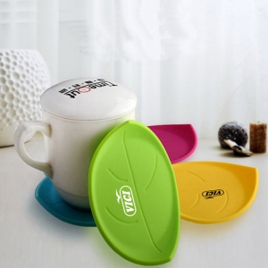Leaf Silicone Coasters - Promotional Products