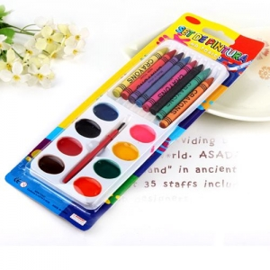 Children 8 Color Watercolor Crayons - Promotional Products