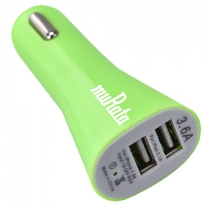 Portable 2 Port USB DC Charger Adaptor - Promotional Products