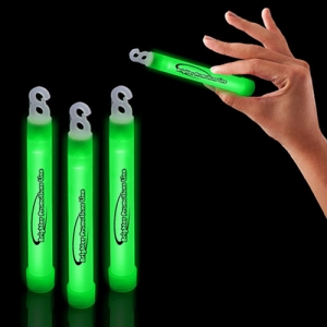 6 Inch Premium Glow Stick with Hook - Promotional Products