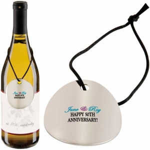 Round Wine Gift Tag-[NW-91823] - Promotional Products