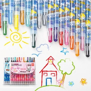 Children Painting 24 Colors Creative Crayon - Promotional Products