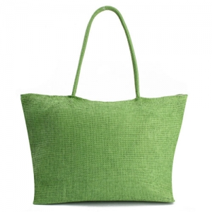 Woven Shoulder Tote Beach Bag - Promotional Products