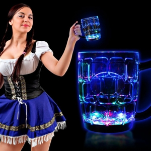 Light-Up Water Inductive Beer Mug - Promotional Products