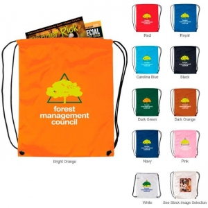 Nylon Drawstring Backpack-[NW-91091] - Promotional Products